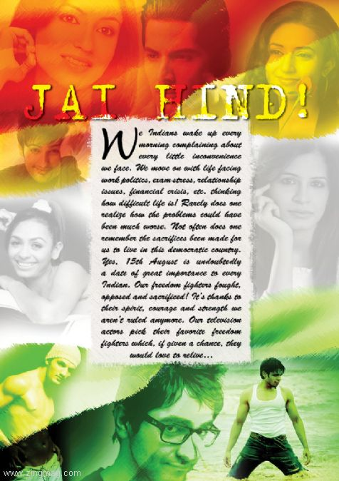 Jai Hind! Our Television Actors pick their favorite freedom fighters they would love to relieve