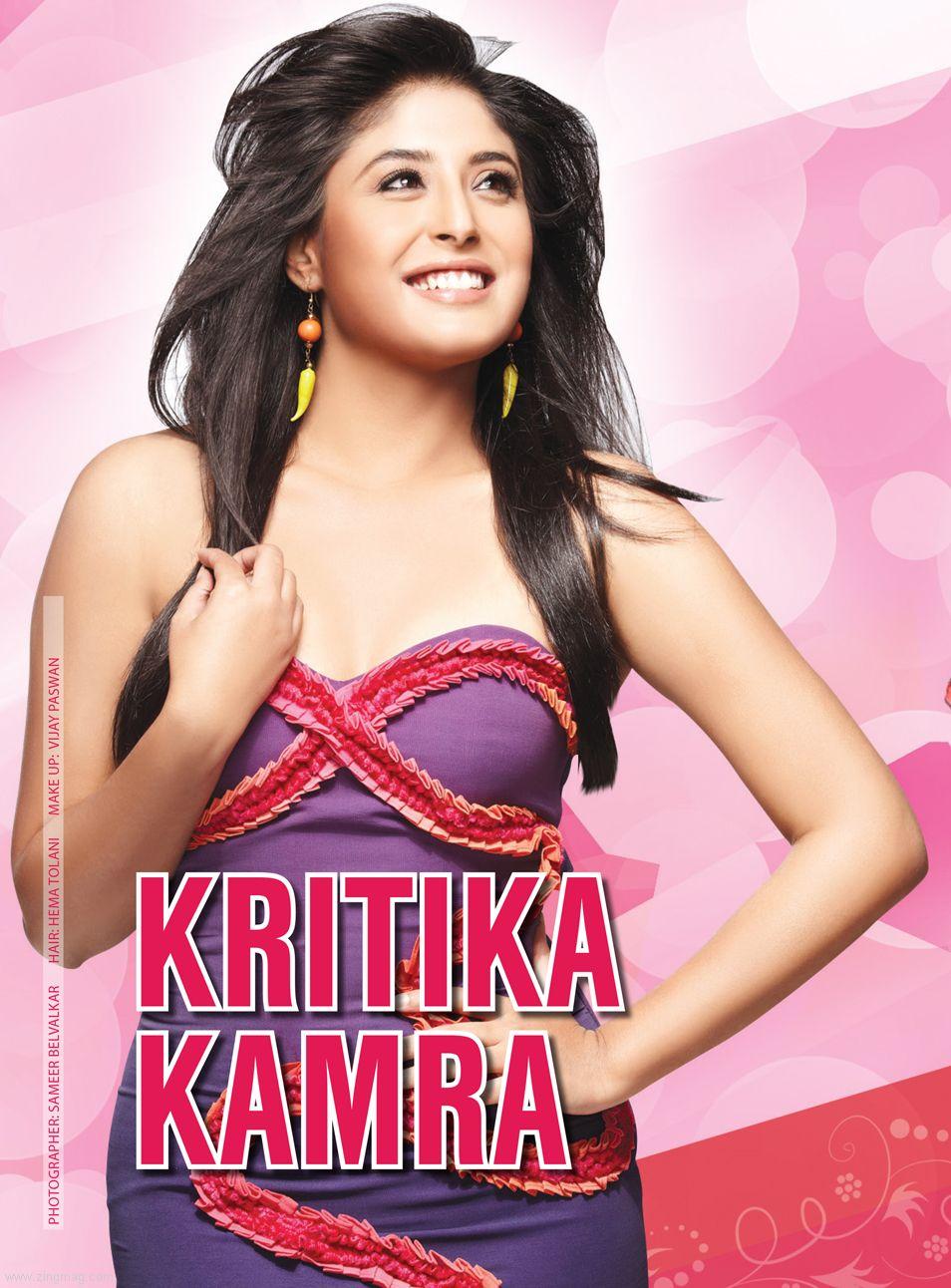 Kritika Kamra Cover Story of Zing Magazine February 2013